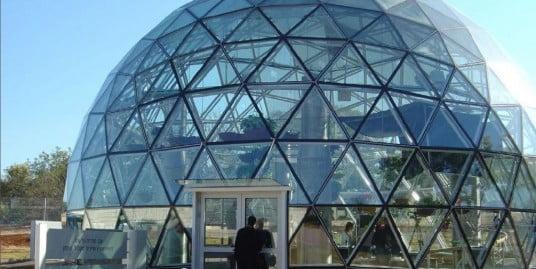 בניין האקו-ספירה בגן המדע