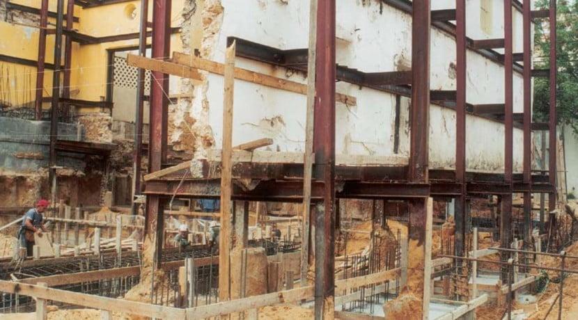 בניין למגורים, שימור חזיתות המבנה 2